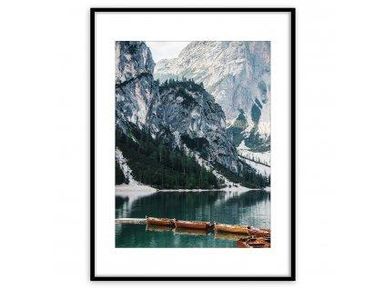 Obraz v rámu LAKE 50x70 cm Styler