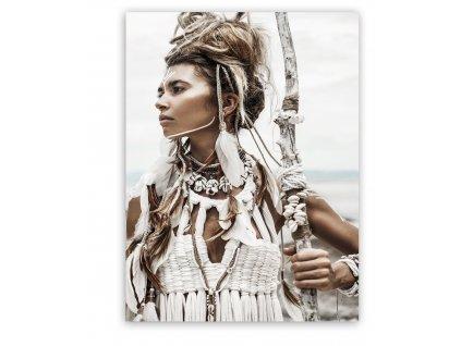 Obraz na plátně WILD GIRL 60x80 cm Styler