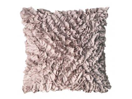 Polštář FREMA růžová 45x45 cm Mybesthome