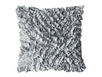 Polštář FREMA stříbrná 45x45 cm Mybesthome