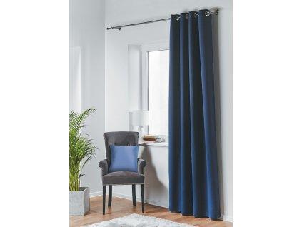 Dekorační závěs zatemňující BLACKOUT 140x245 cm, tmavě modrá, MyBestHome