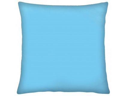 Bavlněný polštář COLORE modrá 40x40 cm, Mybesthome