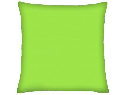 Bavlněný polštář COLORE zelená 40x40 cm, Mybesthome