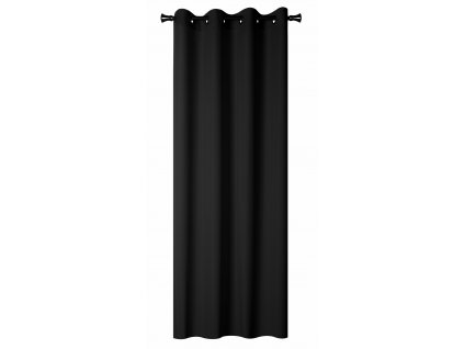 Dekorační závěs zatemňující BLACKOUT 140x260 cm, černá, MyBestHome