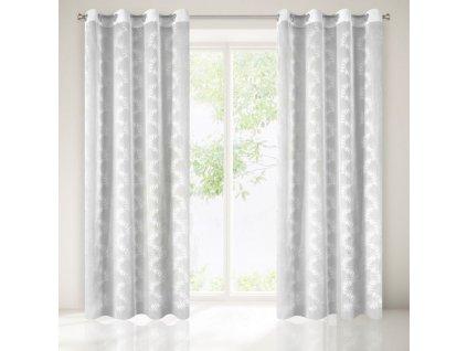Dekorační záclona EVANS bílá 140x250 cm MyBestHome