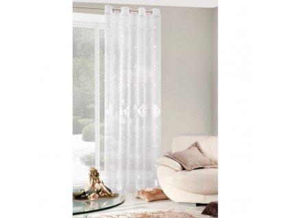 Dekorační záclona MARTA bílá 140x250 cm MyBestHome