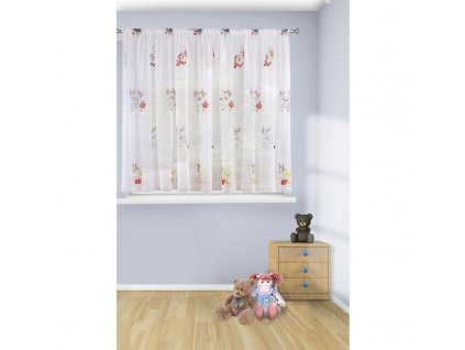 Dekorační krátká záclona BUNNY 350x160 cm MyBestHome