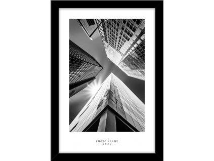 Fotorámeček FLORYDA černá různé rozměry fotografie Styler