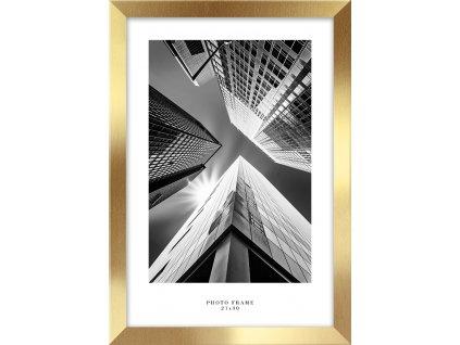 Fotorámeček FLORYDA zlatá různé rozměry fotografie Styler