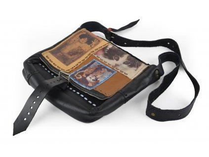 Luxusní kožená taška pře rameno s motivem 30x34x10 cm Mybesthome