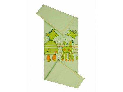 Dětská letní bavlněná deka LÉTO 80x90 cm Mybesthome