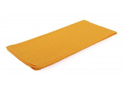 Utěrka bavlněná SPRING COLOR žluto-oranžová 45x65 cm Essex