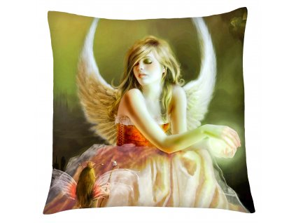 Polštář andělé 04 béžová Mybesthome 40x40 cm