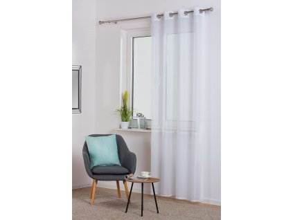 Dekorační záclona SOFIA bílá 140x250 cm MyBestHome