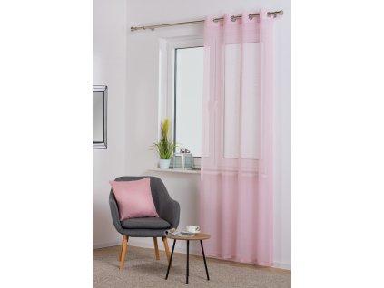 Dekorační záclona SOFIA pudrová 140x250 cm MyBestHome