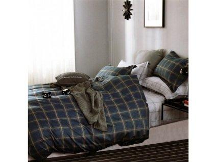 Povlečení ANDREY 100% saténová bavlna 1x 200x220 cm, 2x povlak 70x80 cm francouzské povlečení MyBestHome