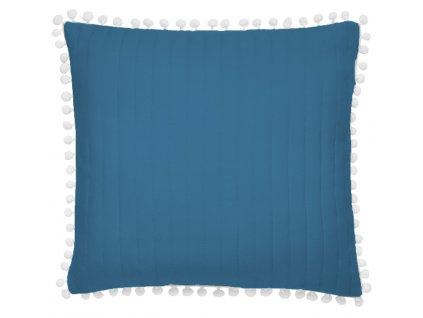 Polštář HARMONIA 45x45cm modrá MyBestHome