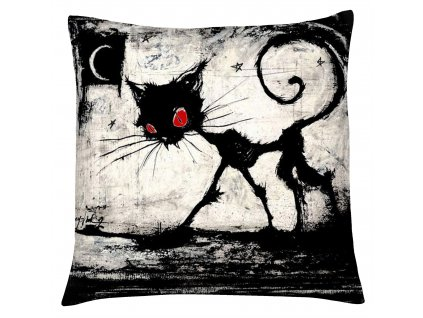 Polštář s motivem kočky 21 Mybesthome 40x40 cm