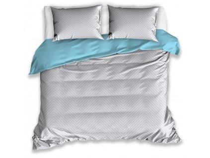 Povlečení ELLA 100% bavlna 1x 200x220 cm, 2x povlak 70x80 cm francouzské povlečení MyBestHome