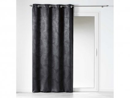 """Dekorační závěs zatemňující BEAUTY - """"BLACKOUT"""" 140x240 cm, šedá, MyBestHome"""