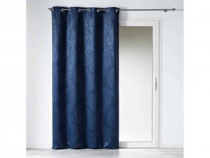 """Dekorační závěs zatemňující BEAUTY - """"BLACKOUT"""" 140x240 cm, modrá, MyBestHome"""