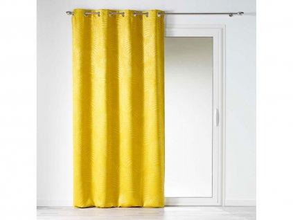 """Dekorační závěs zatemňující BEAUTY - """"BLACKOUT"""" 140x240 cm, hořčicová/mustard, MyBestHome"""
