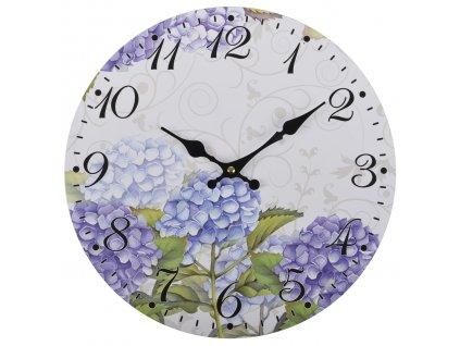 Nástěnné hodiny FLOWERS Ø 34 cm Mybesthome
