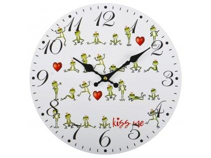 Nástěnné hodiny KING FROG Ø 34 cm Mybesthome