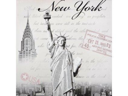 Obraz na plátně NEW YORK 60x60 cm MyBestHome