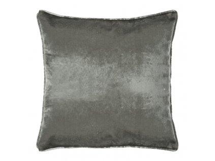 Polštář LUXURY grafitová 45x45 cm Mybesthome