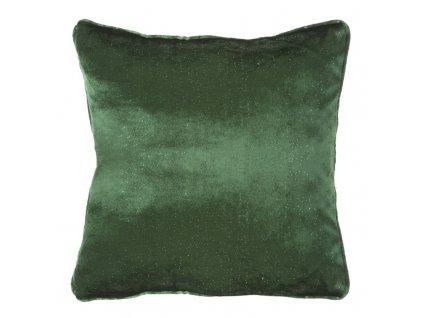 Polštář LUXURY zelená 45x45 cm Mybesthome