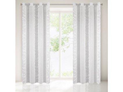 Dekorační vzorovaná záclona JACKIE 140x250 cm MyBestHome