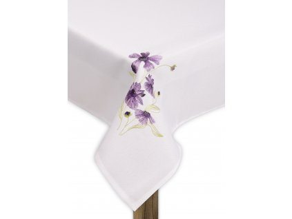 Ubrus GARDEN FLOWERS, 80x80 cm motiv B, ESSEX