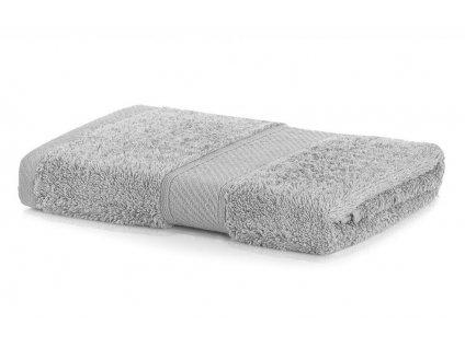 Ručník BAMBOO 50x100 cm, stříbrná, Mybesthome