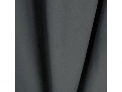 Dekorační závěs s řasící páskou LIVIA tmavě šedá 145x250 cm MyBestHome