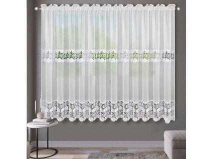 Dekorační krátká záclona MARCELLE bílá 400x180 cm MyBestHome