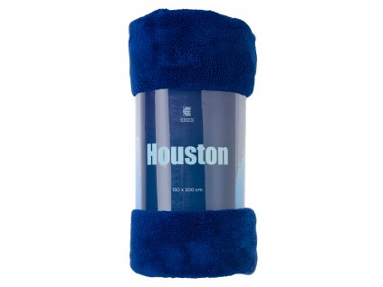 Deka z mikrovlákna HOUSTON modrá 150x200 cm Essex