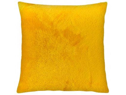 Polštář GRENLAND II. žlutá, 40x40 cm mikrovlákno, ESSEX