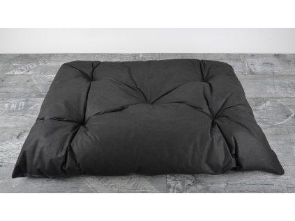 Prošívaný polštář pro psy 90x60 cm, čokoládová, Mybesthome