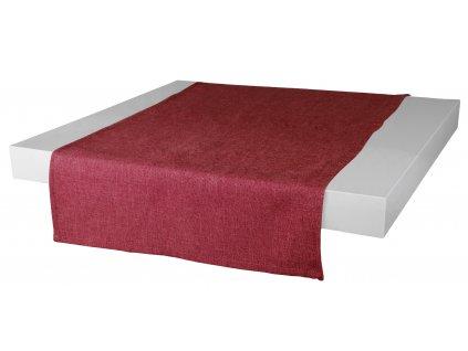 Ubrus - běhoun na stůl BASIC 40x120 cm, červená, ESSEX