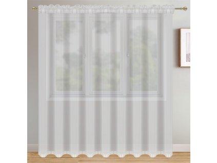 Dekorační krátká záclona CHRISTELL bílá 400x250 cm MyBestHome