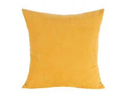 Polštář KRISTI mustard/hořčice 45x45 cm Mybesthome