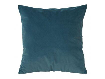 Polštář RUBI VELVET tmavě modrá 45x45 cm Mybesthome