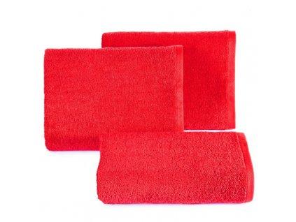 Bavlněný froté ručník MUSA 50x90 cm, červená, 500 gr Mybesthome