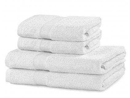 Set 100% bavlna CECIL 2x ručník 50x100 cm a 2x osuška 70x140 cm, bílá, 525 gr, Mybesthome