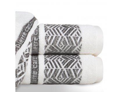 Bavlněný froté ručník TEO 50x100 cm, krémová, 480 gr PIERRE CARDIN