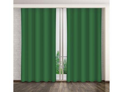 Dekorační závěs 60 zelená 160x250 cm MyBestHome