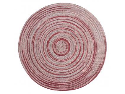 Prostírání kulaté LOLLIPOP růžová Ø 38 cm Mybesthome