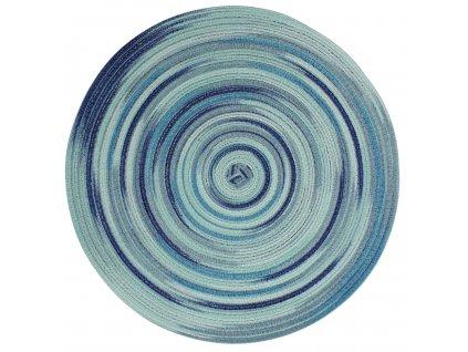 Prostírání kulaté LOLLIPOP zelená/modrá Ø 38 cm Mybesthome