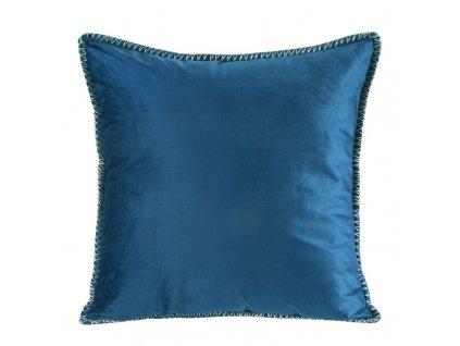 Polštář VILLY modrá 45x45 cm Mybesthome